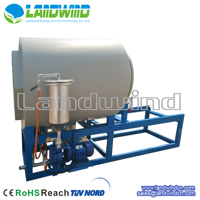 Horizontal vacuum cleaning furnace